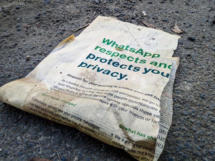 Políticas de Whatsapp en 2021